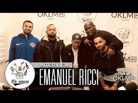 EMANUEL RICCI ( Hamza, Young Thug, sa marque Muso Kuso...) - #LaSauce sur OKLM Radio 10/01/18