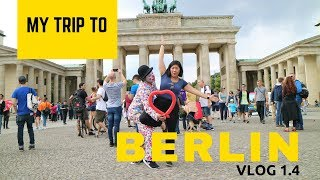 Berlin Vlog: Berlin Wall + East Side Gallery + Air BnB + Concentration Camp + Holocaust Memorial