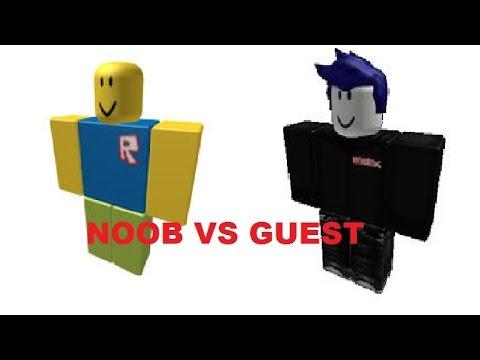 Roblox Stopmotionnoob Vs Guest - videos de roblox noob vs guest