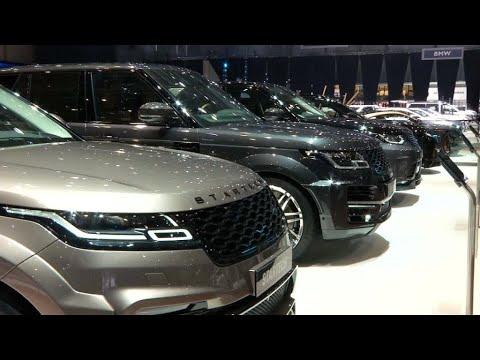 Salon de l'automobile de Genève : le projet américain de taxes inquiète le secteur
