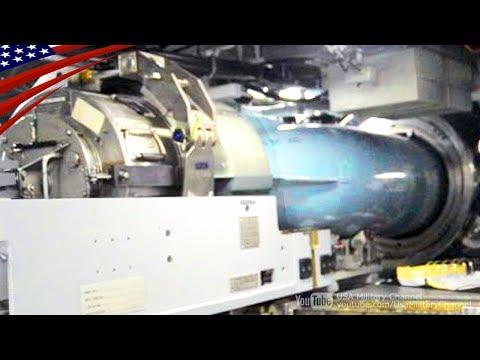 Torpedo Load to Torpedo Tube of US Navy Virginia-Class Nuclear Submarine
