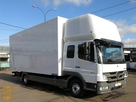 Мерседес-Бенц Атего 824 продажа грузового фургона из Германии