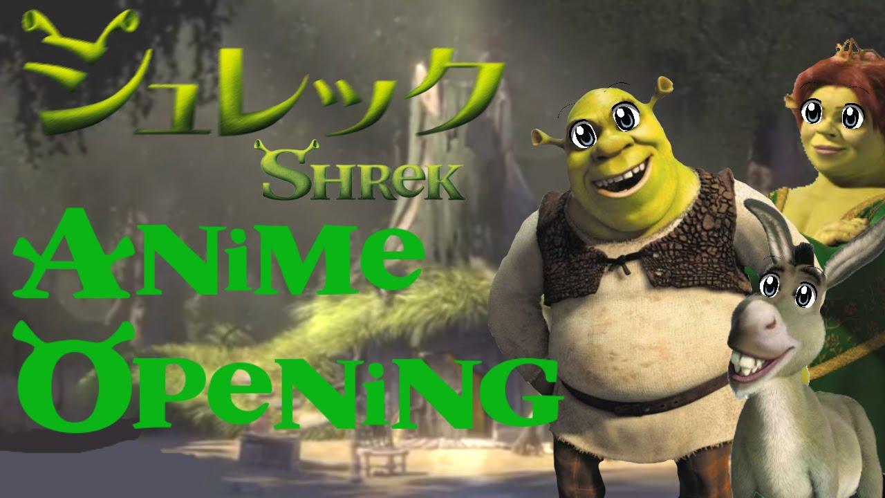 Shrek - Anime Opening - YouTube