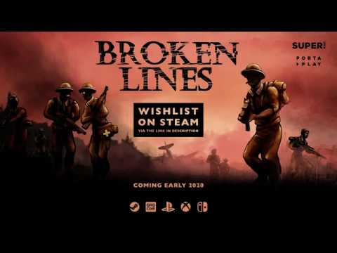 Broken Lines looks like X-COM mixed with Darkest Dungeons in an alt-history WW2 | PC Gamer