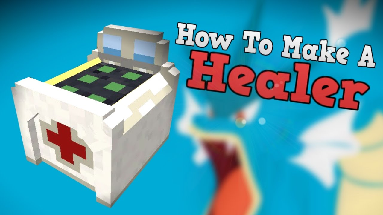 Pixelmon Lab: How To Make A Healing Table! (Minecraft ...