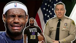 LeBron James REFUSES To Help Injured Police Officers After Being Challenged By Sheriff!