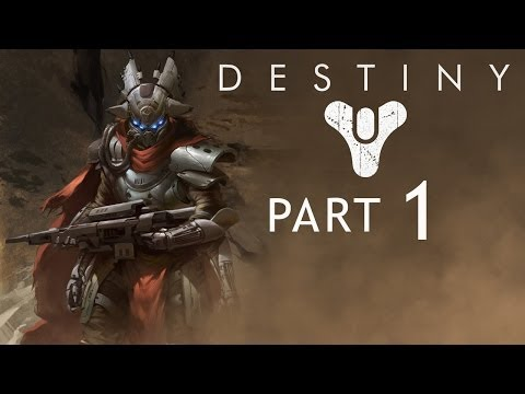 Destiny Gameplay Walkthrough - PART 1 - Turn Down For Mung! (Alpha PS4 / XBOX ONE / PC)