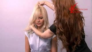 видео Наращивание волос для объема и длины Салон-дома.рф