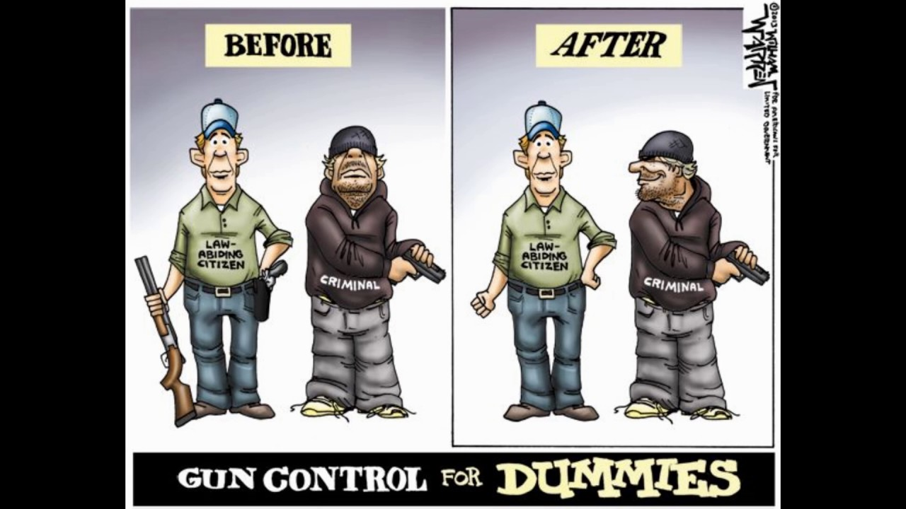an introduction to the three arguments for gun control No doubt you've heard one of these arguments given as a reason against gun control problem is, it's very dubious logic.
