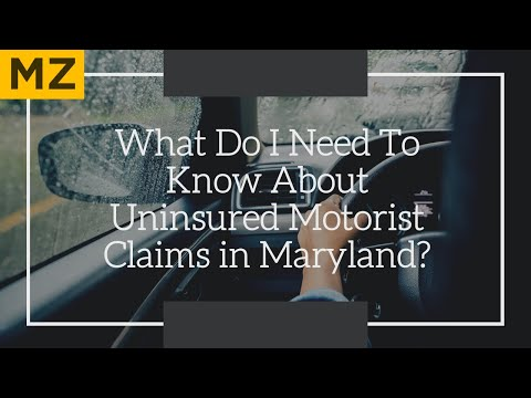 Uninsured Motorist Claims in Maryland