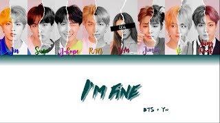 BTS (방탄소년단) + You as a member (8 Members) - I'm Fine [Color Coded Lyrics HAN|ROM|ENG]