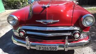 VENTA DE COCHES en CUBA . CHEVROLET del 54  37.000 cuc . carros en venta