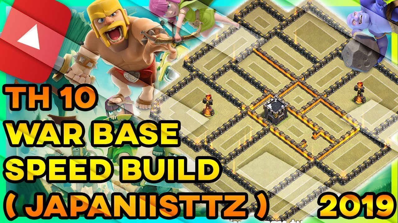 Clash Of Clans - NEW BEST INSANE Town Hall 10 (TH10) War Base 2019 | ANTI 3  STAR | ANTI EVERYTHING !