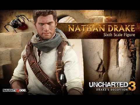 Sideshow Nathan Drake 1 6 Scale Figure Review Uncharted 3
