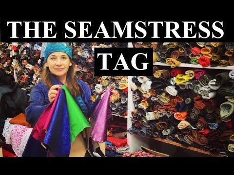 The Seamstress Tag Sewing Vlog