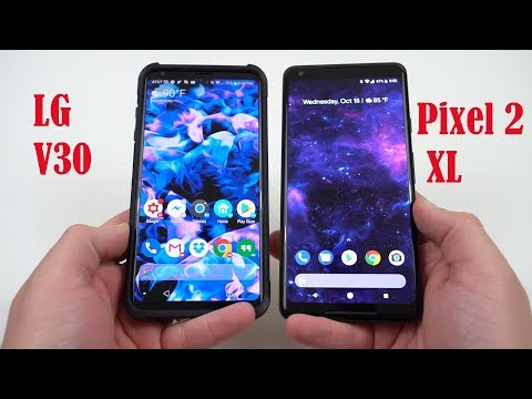 Google Pixel 2 XL with POLED Display Issues? Comparison to LG V30