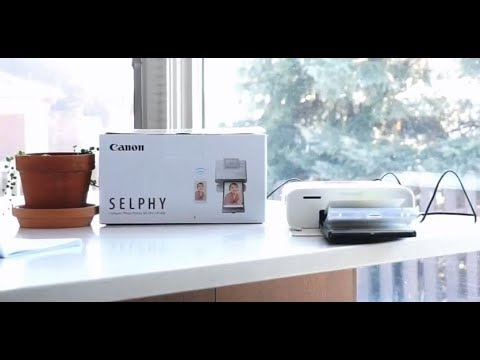Canon Selphy CP1300 Wireless Photo Printer blogger review