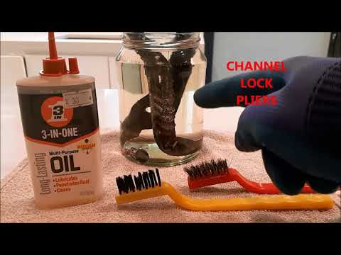 Channel Lock Pliers Rejuvenation!  Or, How To Bring Old Tools Back From Oblivion!