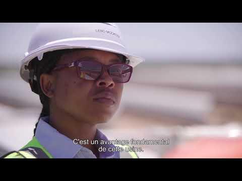 ENGIE  La centrale solaire de Kathu