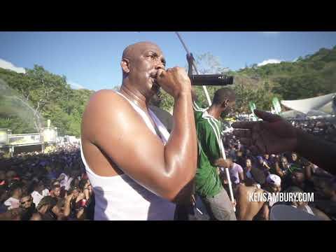 Iwer George Performance ft. Machel Montano in JAM Nation 2018