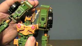 Transformers Universe: Autobot Ambush two pack (Roadbuster/Dirge) Review