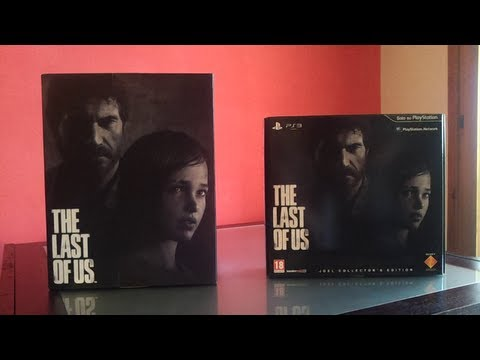 UNBOXING - THE LAST OF US Collector 's Edition + Statua Ellie E Joel