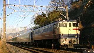 東武リバティ甲種 EF65-2119 三島‐函南間
