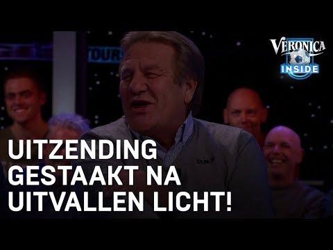 Uitzending gestaakt na uitvallen licht! | VERONICA INSIDE