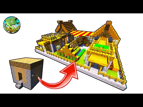 How to Transform a Minecraft Village 5x5 House