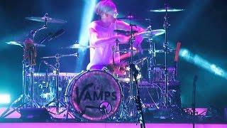 Tristan Evans drum solo- MeetTheVamps Tour at Hammersmith Apollo thumbnail