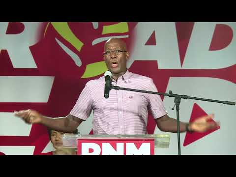 Dr The Hon Keith Rowley - National Post Budget Meeting 2017, Piggot's Cor.