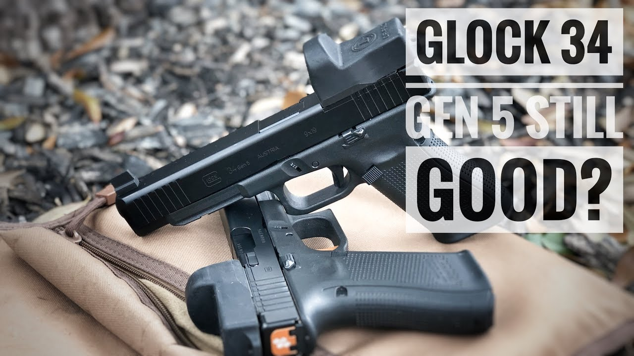 Glock 34 Gen 5 5 000 Round Complete Review Is The Original Striker Long Slide Making A Comeback Youtube Glock's ndlc finish is tougher, more durable, and is on both the barrel and the slide. glock 34 gen 5 5 000 round complete review is the original striker long slide making a comeback