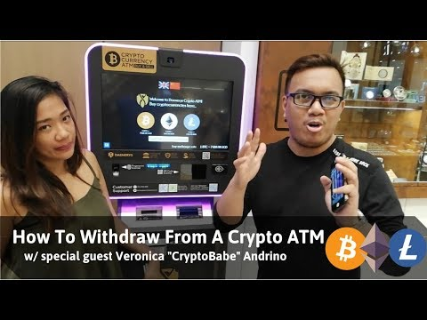 How To Withdraw Money From A Crypto ATM With Special Guest CryptoBabe