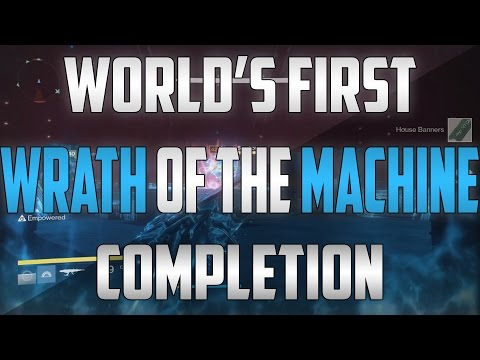 World's First Wrath of the Machine Full Raid Completion