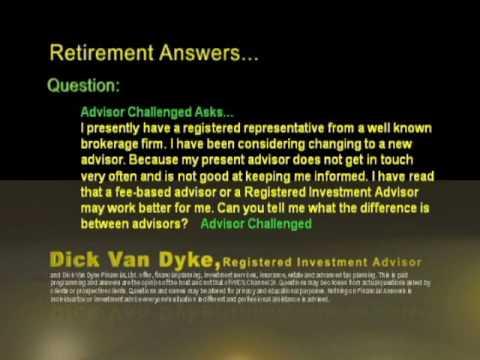 15) Explain Registered Representative Vs Registered Investment Advisor?