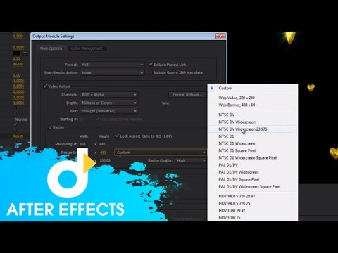 Hướng dẫn xuất phim trong After Effects