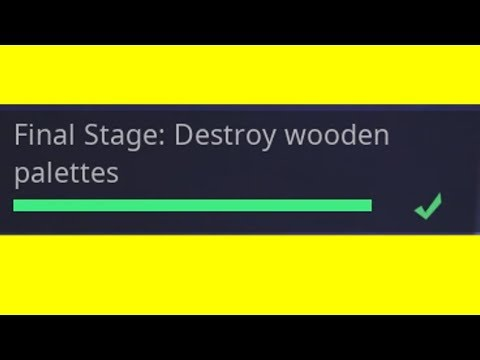Destroy Wooden Palettes In One Game - Read The Description