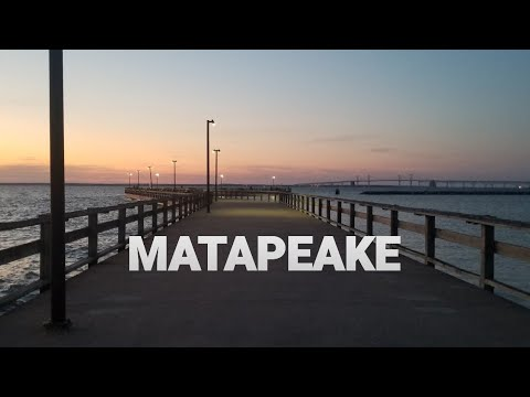 FISHING THE CHESAPEAKE BAY IN MD AT MATAPEAKE FISHING PIER