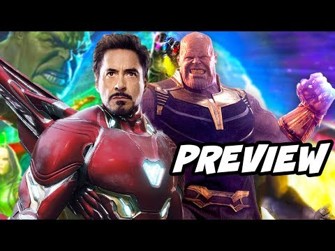Avengers Infinity War Preview and New Trailer Details