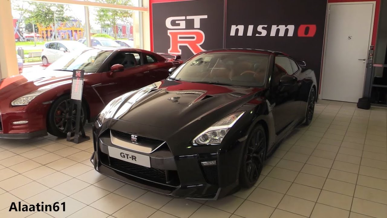 2017 NISSAN GT-R / Start Up, Exhaust Sound, In Depth Review Interior ...