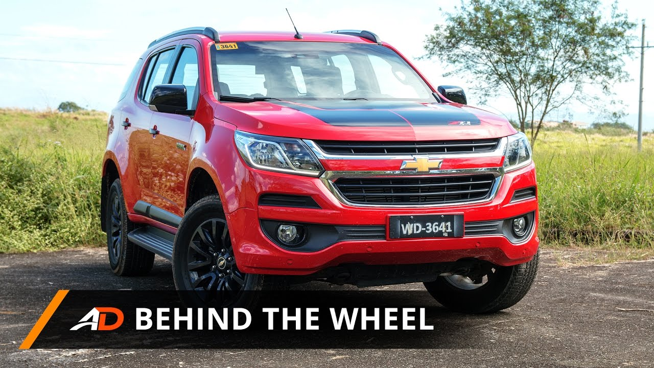 2017 Chevrolet Trailblazer 2 8 At 4x4 Z71 Review Behind The Wheel Autodeal