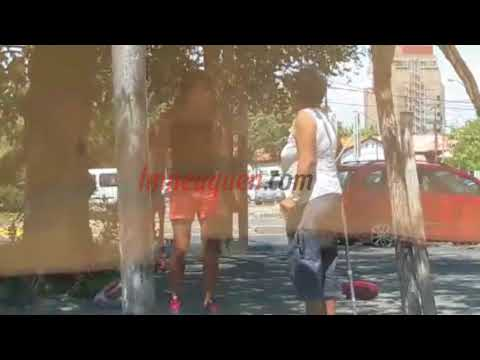 Dos mujeres se pelearon en el centro de la ciudad