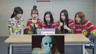 Grupo de K-Pop reage e aprende a dançar B-Pop (Feat Busters)