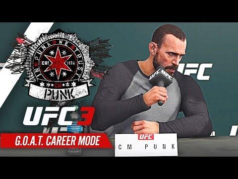UFC 3 Career Mode - Ep 3 - THE KO KING!! (CM Punk GOAT Career #3)