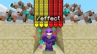 Minecraft Manhunt but I secretly cheated with /effect...