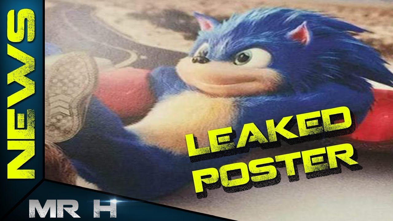 LEAKED Sonic The Hedgehog Movie Poster Reveals Full Live Action Sonic ( NIGHTMARE FUEL )