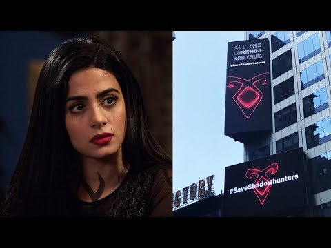 Shadowhunters Fans Buy BILLBOARD in Times Square to Save Show Mp3