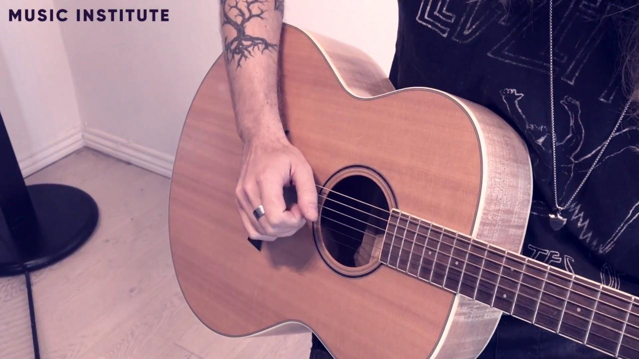 Lær at spille guitar 9/10 - Lær at spille fingerspil på guitaren