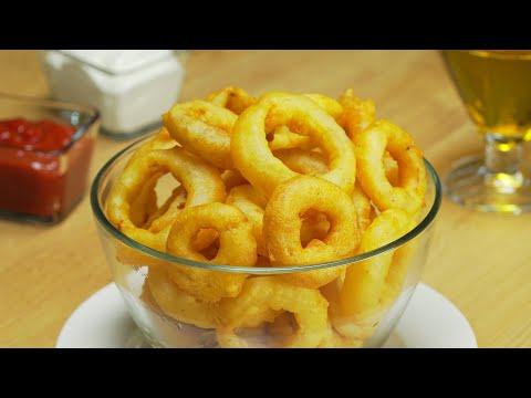 Луковые кольца в кляре. Рецепт от Всегда Вкусно!