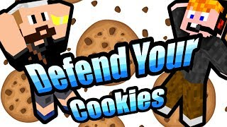 Minecraft - Defend Your Cookies [KELL A SÜTIIII!]